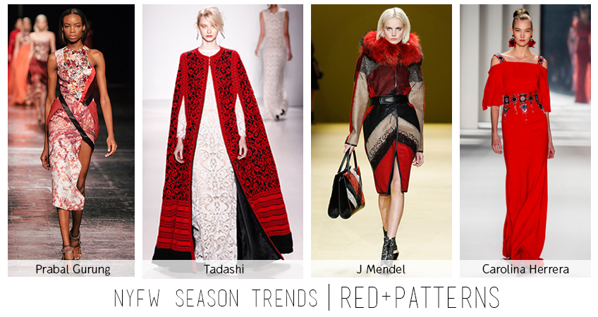 NYFW Red Trend