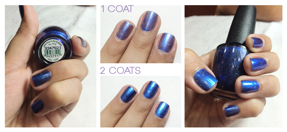 Miss Piggys Big Number OPI collection