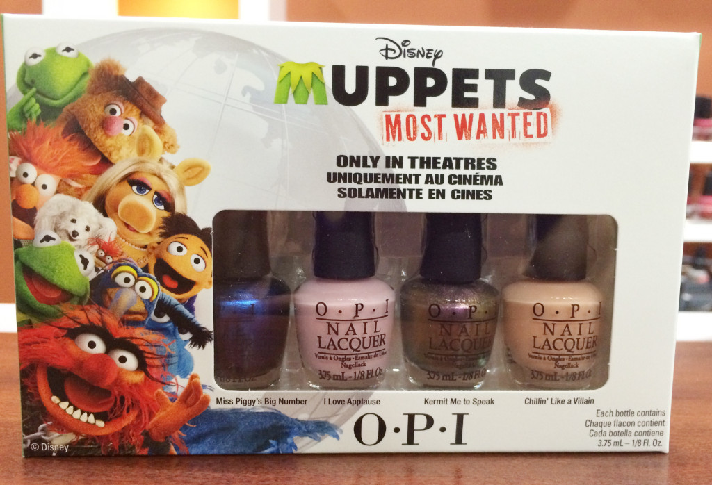 Muppets mini OPI collection