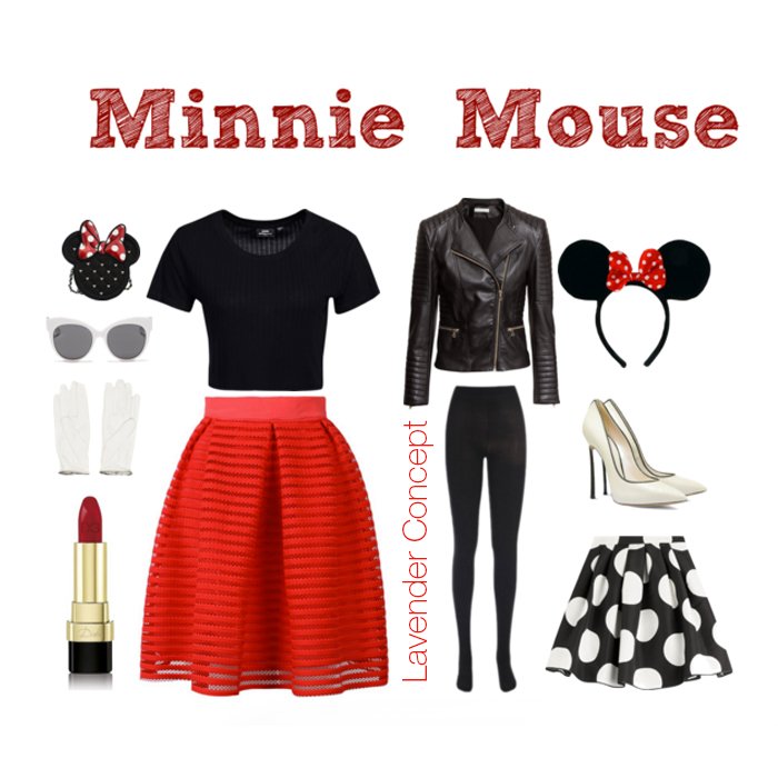 Minnie Mouse DIY costume