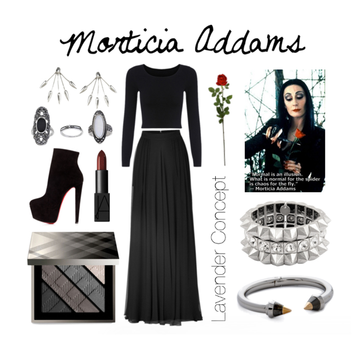 Morticia Addams DIY costume
