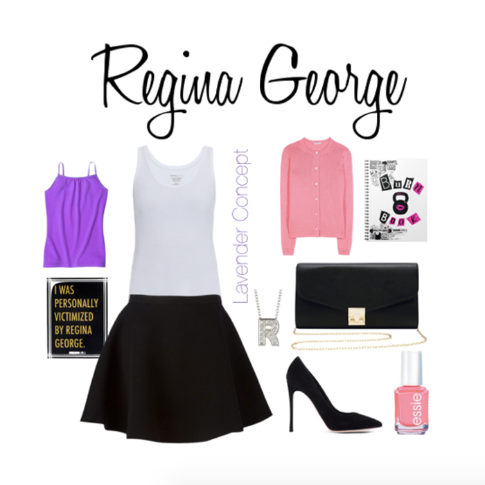 Regina George DIY costume