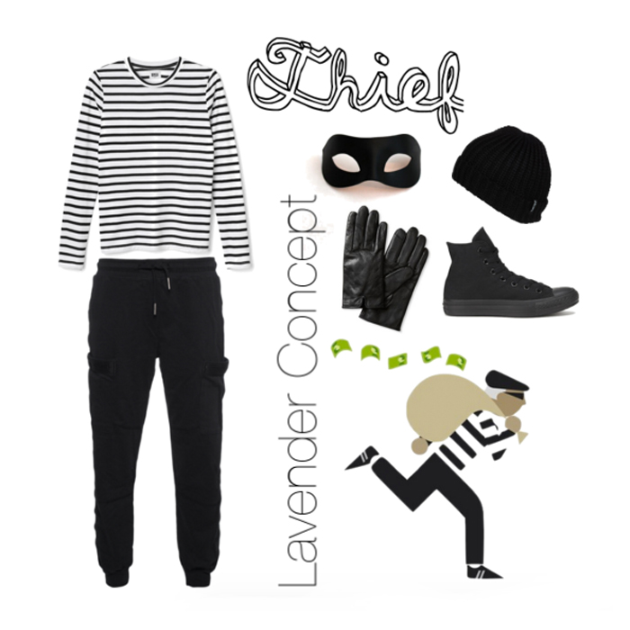 Thief DIY costume