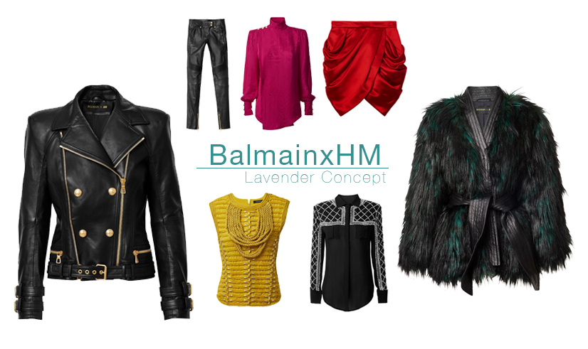 tops and bottoms BalmainxHM